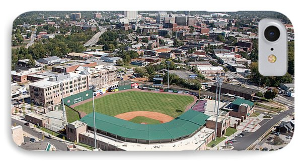 Fluor Field At The West End Greenville Phone Case by Bill Cobb