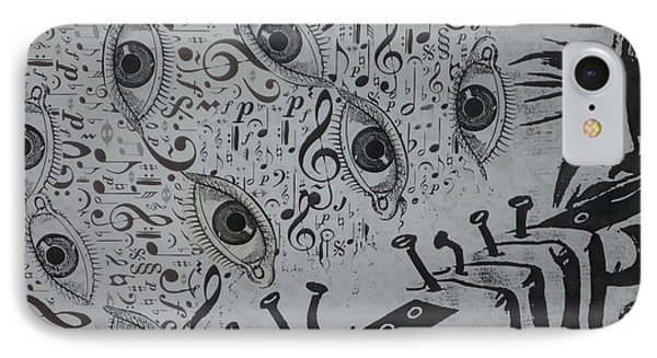 Flute Concerto In Eye Minor Phone Case by Douglas Fromm