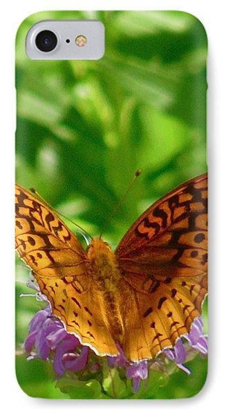 Flutterby IPhone Case by Tim Good