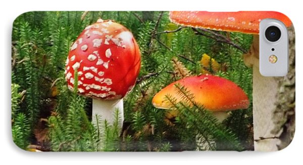 IPhone Case featuring the photograph Fly Agaric Mushroom by Brigitte Emme