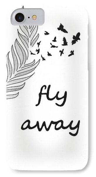 Fly Away Phone Case by Jennifer Kimberly