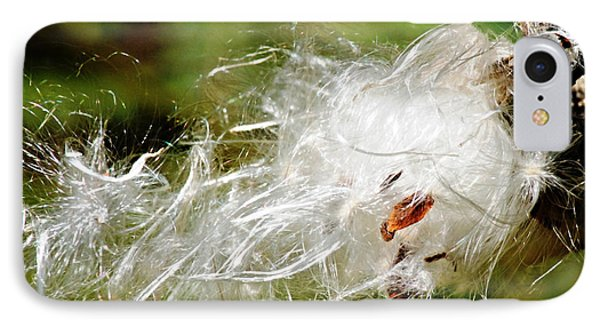 IPhone Case featuring the photograph Fly Away Milkweed by JRP Photography