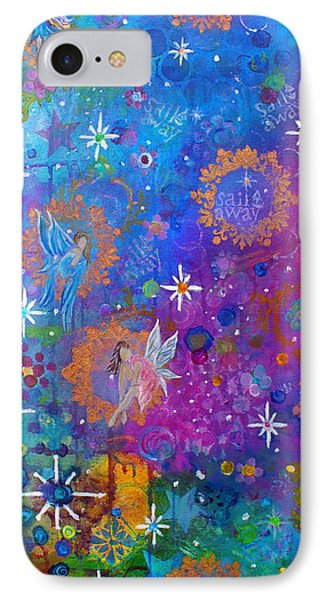 Fly Away To Fairy Day Phone Case by The Art With A Heart By Charlotte Phillips