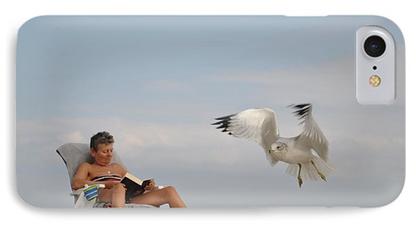 Fly Away IPhone Case by Tomas Zohar