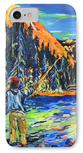 Fly Fisherman IPhone Case
