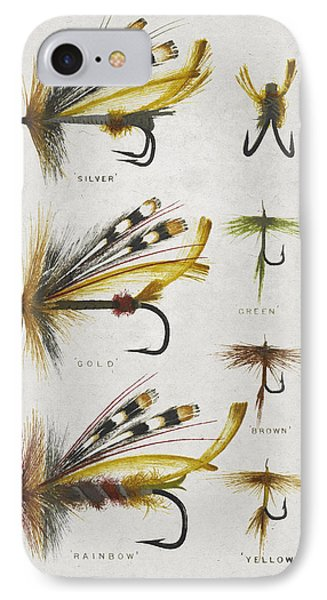Fly Fishing Flies IPhone Case