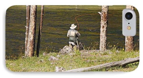 Fly Fishing IPhone Case by Mary Carol Story
