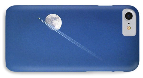Fly Me To The Moon IPhone Case by Cricket Hackmann