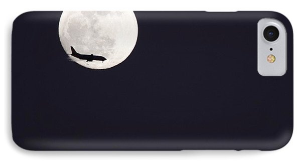 Fly Me To The Moon IPhone Case by Nathan Rupert