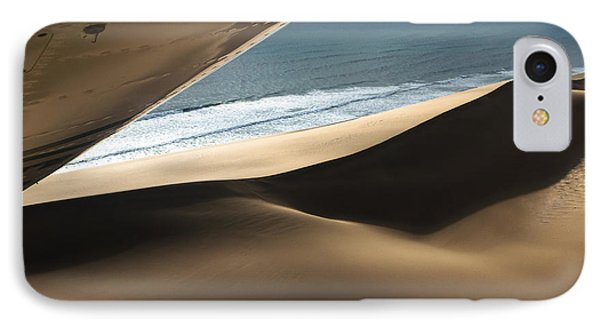 IPhone Case featuring the photograph Fly Over The Namib by Juergen Klust