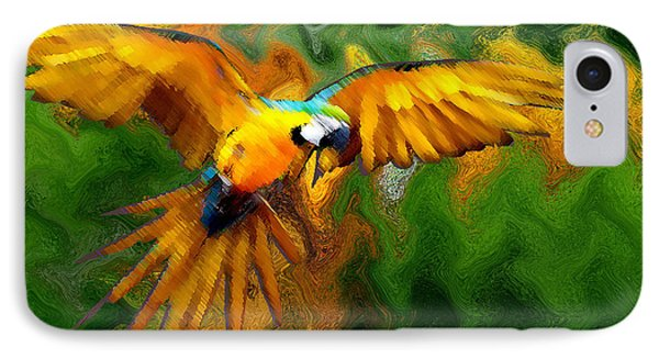 Flying 2 Phone Case by Bruce Iorio