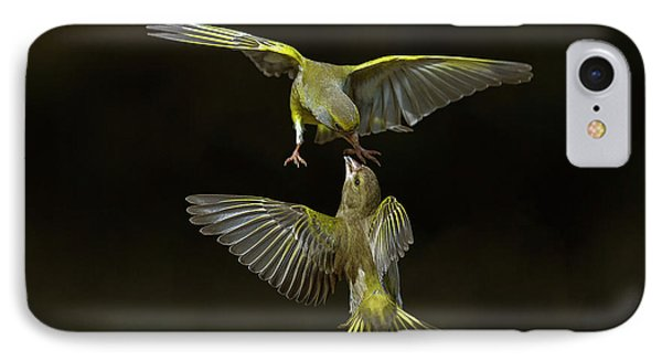 Flying Attack! IPhone Case