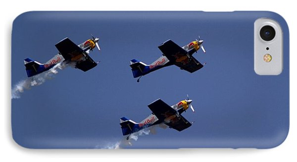 IPhone Case featuring the photograph Flying Bulls by Ramabhadran Thirupattur