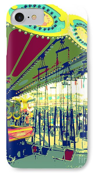 Flying Chairs IPhone Case by Valerie Reeves