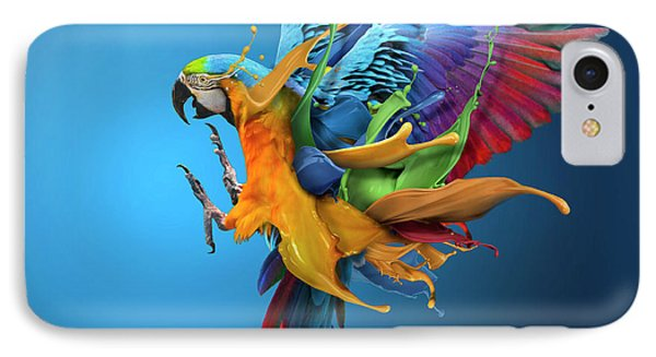 Flying Colours IPhone Case