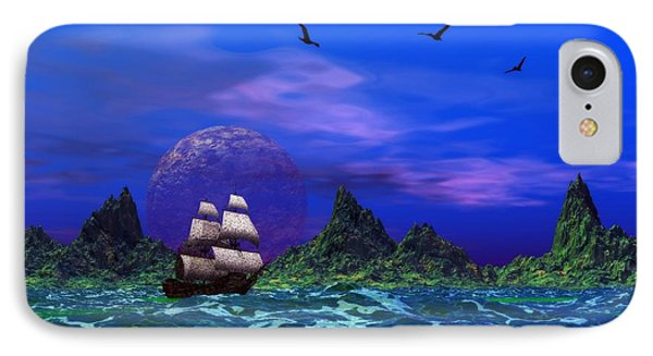 Flying Dutchman IPhone Case by Mark Blauhoefer