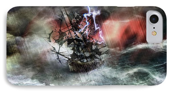 Flying Dutchman IPhone Case