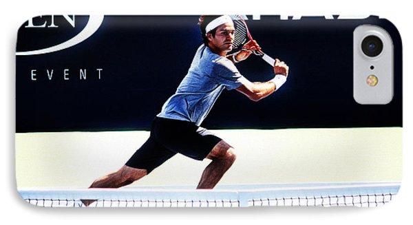 Flying Federer  Phone Case by Nishanth Gopinathan