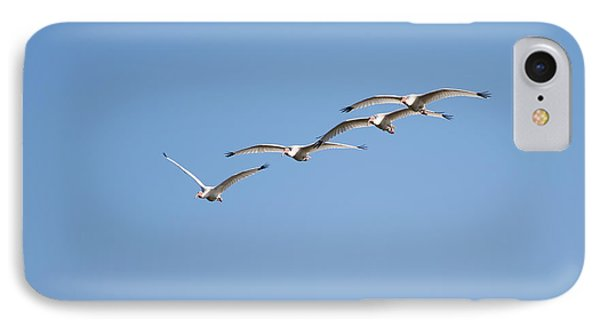 IPhone Case featuring the photograph Flying Formation by John M Bailey