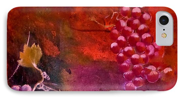 Flying Grapes IPhone Case by Lisa Kaiser