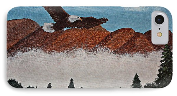 Flying High Phone Case by Barbara Griffin