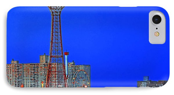 Flying High In Coney Island IPhone Case