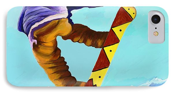 Flying High IPhone Case by Jeanne Fischer