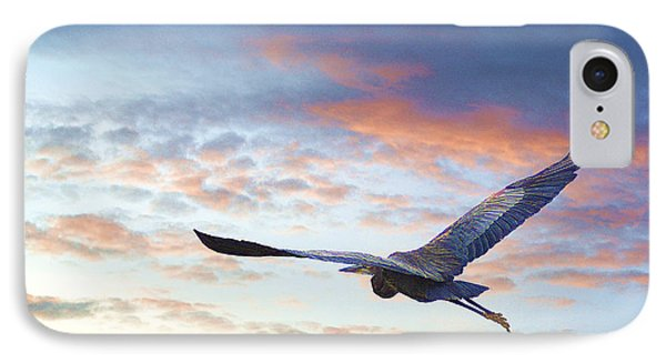 IPhone Case featuring the photograph Flying High by John  Kolenberg