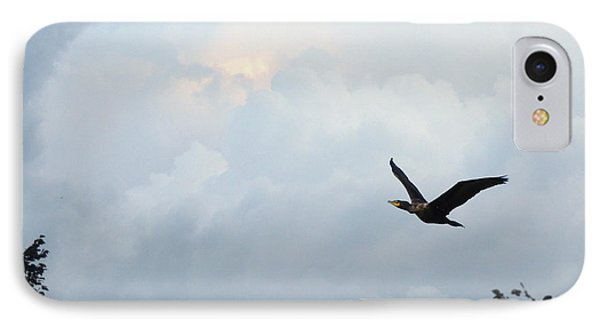 IPhone Case featuring the photograph Flying Home by Teresa Schomig