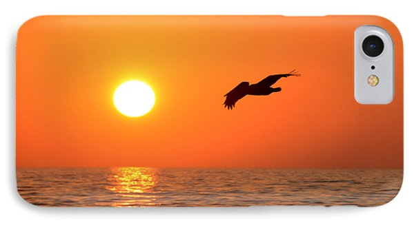 Flying Into The Sun Phone Case by David Lee Thompson