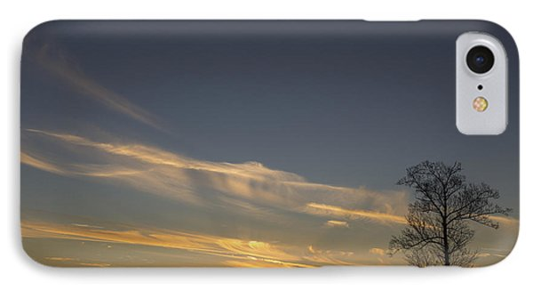 Flying Into The Yellow Sunset IPhone Case by Michael Waters