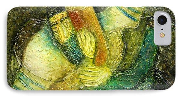 Flying Jew Phone Case by Leon Zernitsky