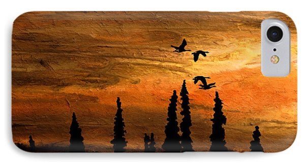 Flying Low IPhone Case by R Kyllo