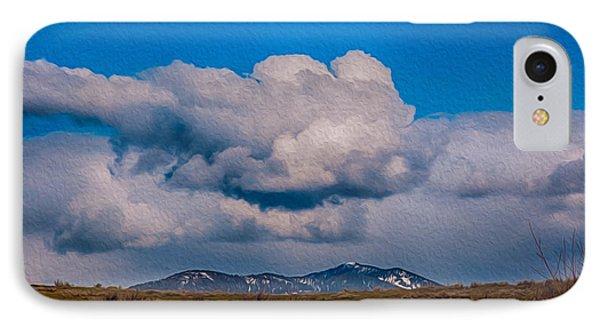 Flying Rain Spirit Phone Case by Omaste Witkowski