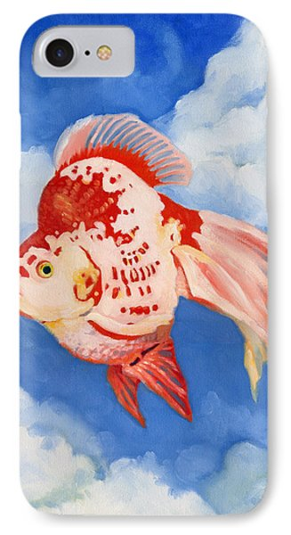 Flying Ryukin IPhone Case by Katherine Miller