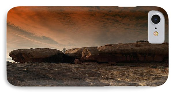 Flying Saucer Rock Phone Case by Jeff Swan