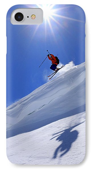 Flying The Friendly Skies... IPhone Case by Johnny Adolphson