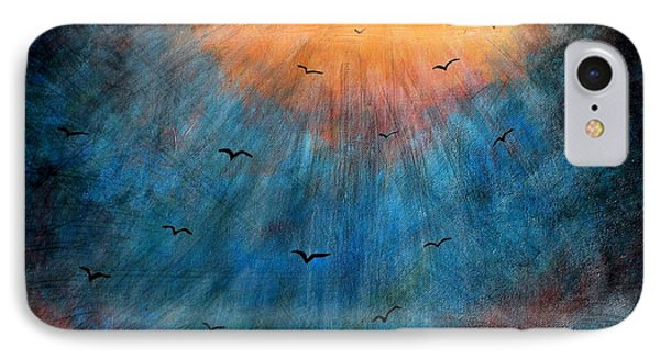 Flying To Heaven IPhone Case by Michael Grubb