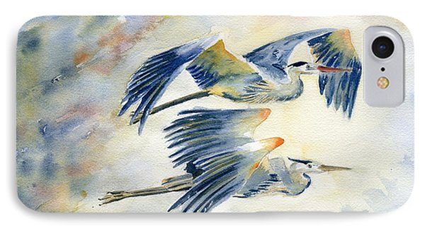 Flying Together IPhone Case by Melly Terpening