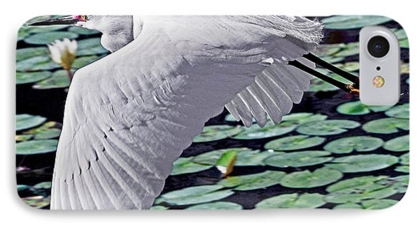 Flying With Monet IPhone Case