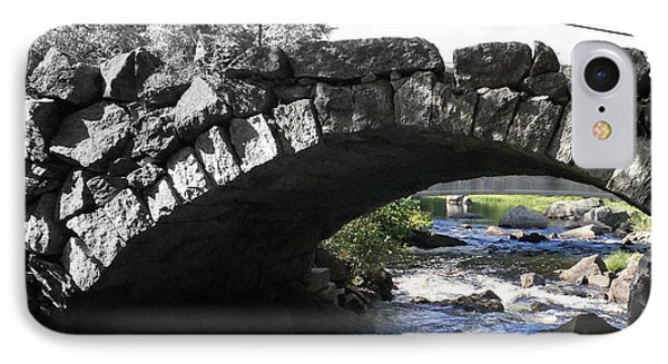 Focal Bw Bridge IPhone Case by Lois Lepisto
