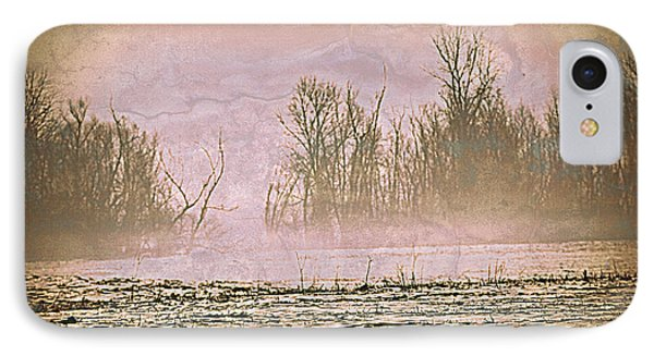 Fog Abstract 2 Phone Case by Marty Koch