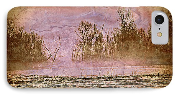 Fog Abstract 3 Phone Case by Marty Koch