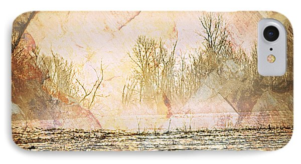 Fog Abstract 4 Phone Case by Marty Koch