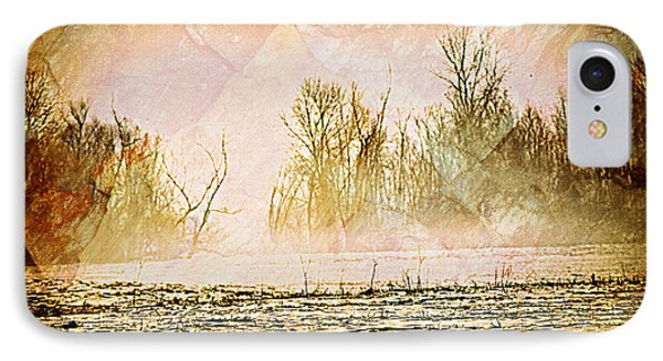 Fog Abstract 5 Phone Case by Marty Koch