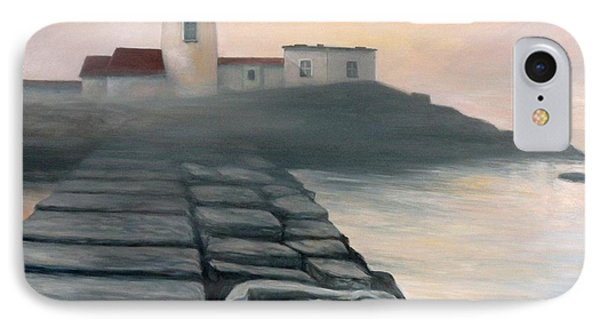Fog Burning Off Phone Case by Eileen Patten Oliver