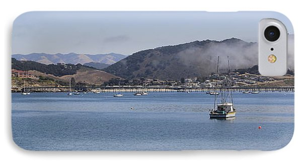 IPhone Case featuring the photograph Fog Hovering Over San Luis Obispo Bay by Jan Cipolla