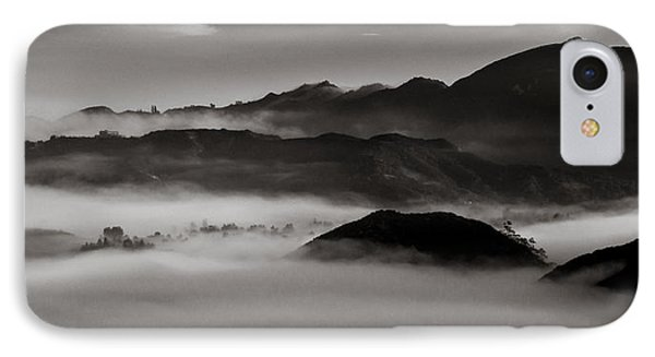 Fog In The Malibu Hills IPhone Case