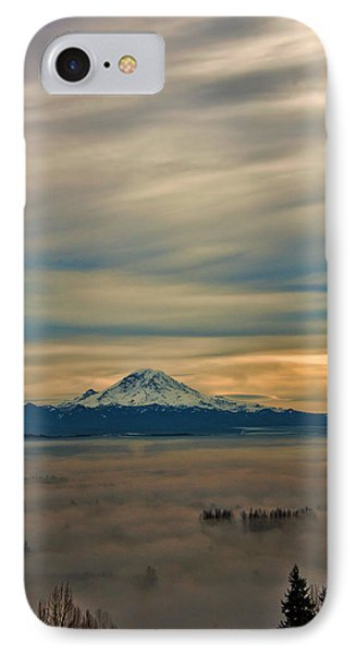 Fog In The Valley IPhone Case by Jerry Cahill
