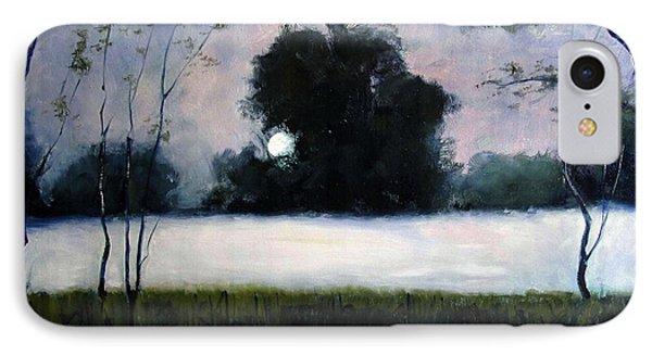 Fog Moon Phone Case by Charlie Spear